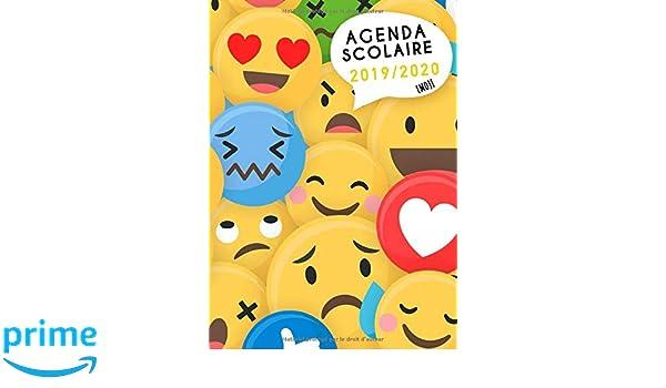 Agenda Scolaire 2019 2020 Emoji: Timer, organisateurs ...