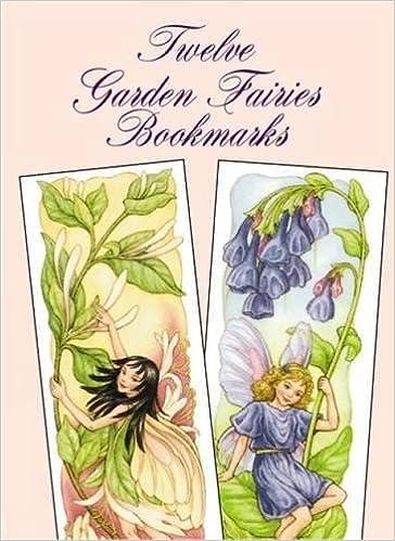 twelve garden fairies bookmarks darcy may amazoncom books