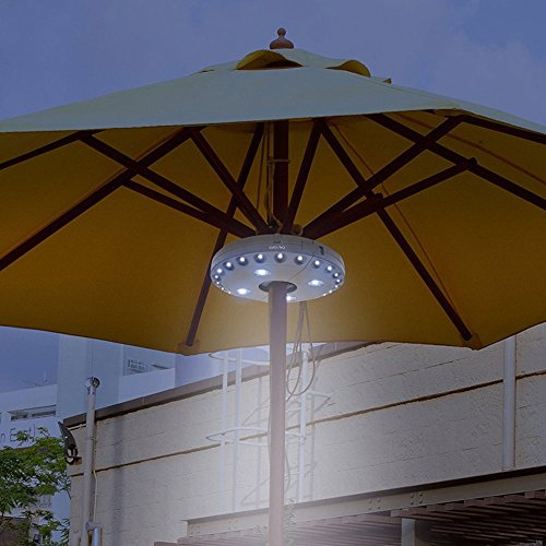 Cacys Store New Outdoor Garden Cordless 28LED 3Mode Patio Umbrella Pole Light Camp Light Camping Tent Lamp Yard Lawn Night Light Outdoor New (1 Pcs, Random Colors) by Cacys Store
