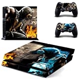 MORTAL KOMBAT DESIGNER SKIN FOR SONY PS4 AND CONTROLLER SETS