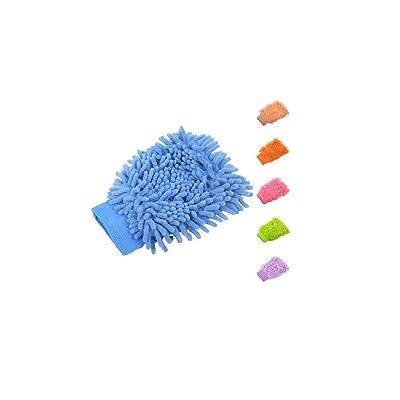 YASSUN Microfiber Wash Mitt Document Holder (Microfiber Car Wash Mitt): Office Products