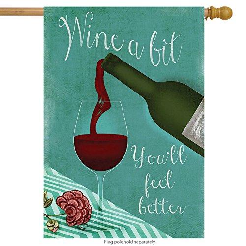 Wine a Bit House Flag Cocktail Hour 28