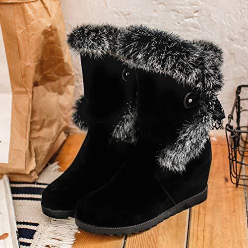 Classici Aiyoumei Donna Aiyoumei Donna Nero Stivali Classici Nero Stivali pBYpfw