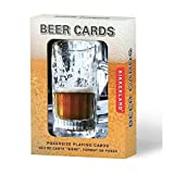 vaccume toy - Kikkerland Playing Cards, Beer Lenticular
