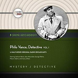 Philo Vance, Detective, Vol. 1 Radio/TV Program