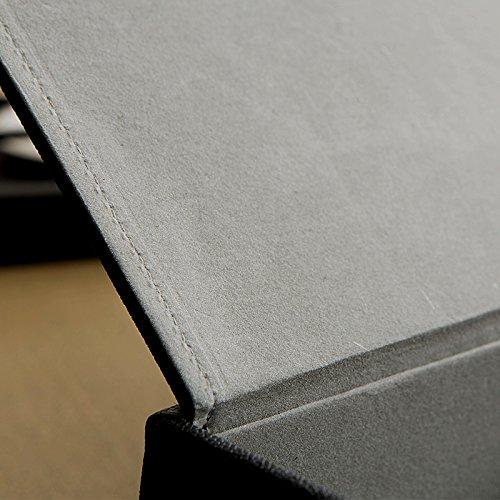 Dosige Tissue Box aus Leder Kosmetiktuch Box Spender Gr/ün 25 x 14 x 9.5 cm
