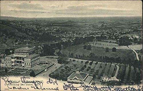 Amazon.com: Aerial View, Novitiate of the Sacred Heart Los Gatos, California Original Vintage Postcard: Entertainment Collectibles