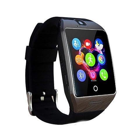 Montre Connectée Compatible avec Huawei P20 (P11), CEKA TECH® Montres Connectée Bluetooth, Smart Watch, avec Caméra, Écran Incurvé Tactile, Support SIM/TF ...