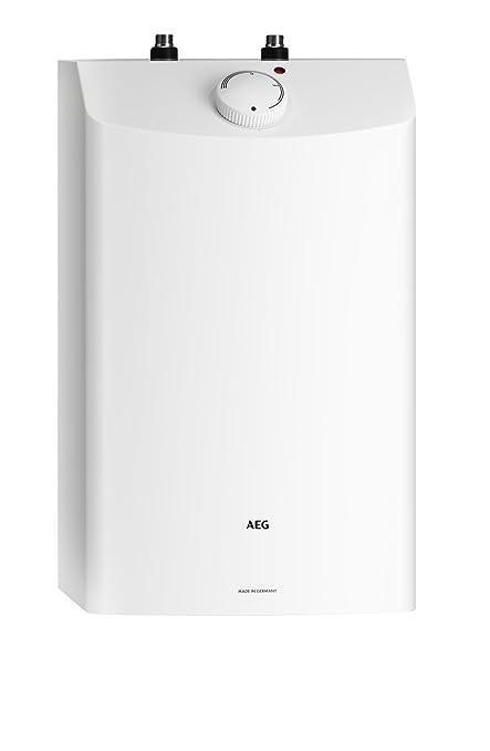 AEG 229486 Huz 10 ÖKO - Calentador acumulador de baja presión (tamaño pequeño, 10