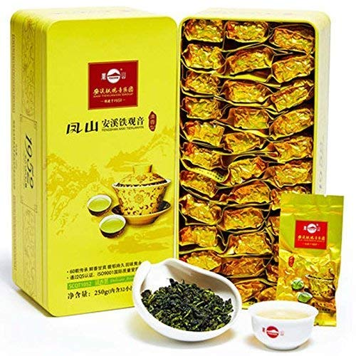 Anxi Tieguanyin Fengshan Tea Supreme Mild Flavor New Tea Gift Pack 250g凤山安溪铁观音清香型 by Fengshan