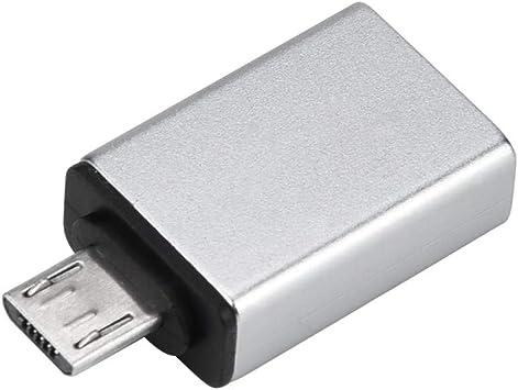 jfhrfged Mini convertidor Adaptador USB OTG Mini para Smartphone ...