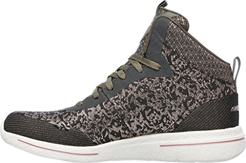 Skechers Womens Burst 2.0 - Mode Avant Olive / Rose