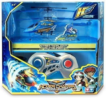 Hover Champs - Helicóptero Lanza Misiles Sky-Wings con 3 Canales, 24 cm (Giochi Preziosi 85853)