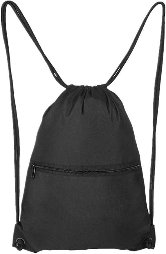 GymSack Drawstring Bag Sackpack Pineapple Leaves Sport Cinch Pack Simple Bundle Pocke Backpack For Men Women