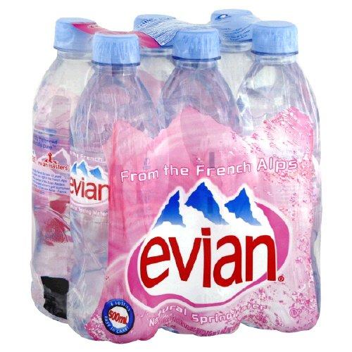 Spring Water, Natural , 6/16.9oz (pack of 4 ) ( Value Bulk Multi-pack)