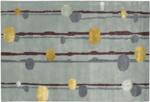 Link Lost Collection - Lost Link Collection Hand-tufted Contemporary Rug (5' x 7'6) by Chandra Rugs