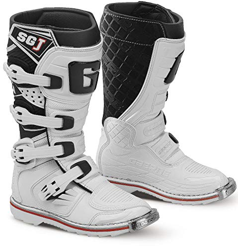 Gaerne SG-J Youth White Motocross Boots - 2 from Gaerne