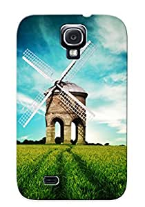 Catenaryoi High Quality Windmill Case For Galaxy S4 / Perfect Case For Lovers wangjiang maoyi