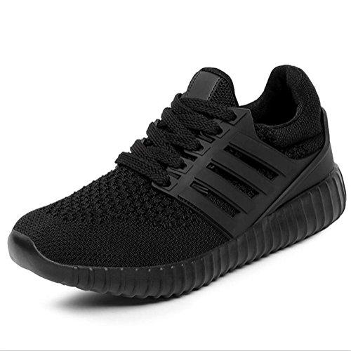 XIE Zapatos Corrientes de la Señora de la Red de Las Mujeres 9630 black
