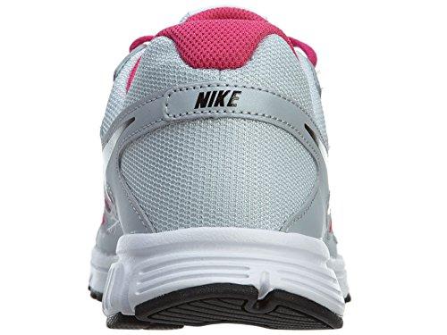 Nike Revolution 2 GS - Zapatillas para niña PURE PLATINUM HOT PINK BLACK