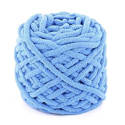 eDealMax poliéster Familia arte de DIY mantón de la bufanda del suéter Tatting el hilado del