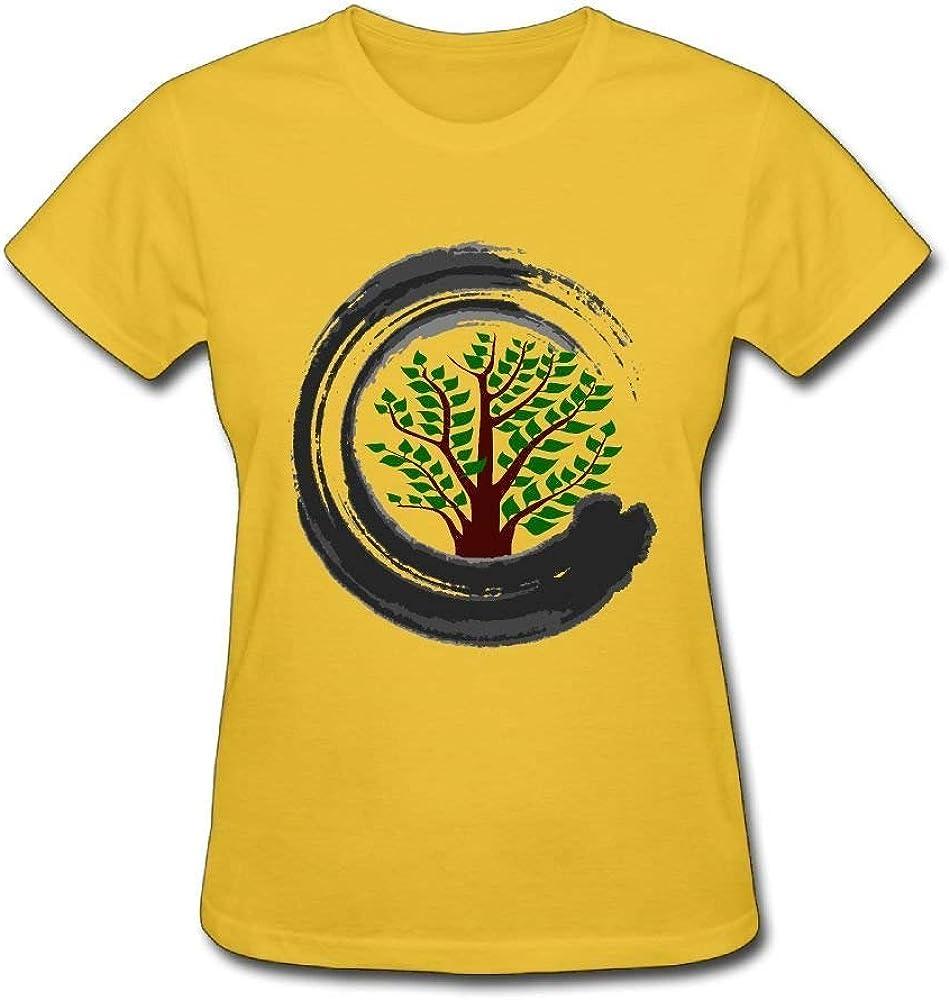 OPO-T Camiseta Bonsai Tree Zen Mujer Verano Camisetas: Amazon.es: Ropa y accesorios