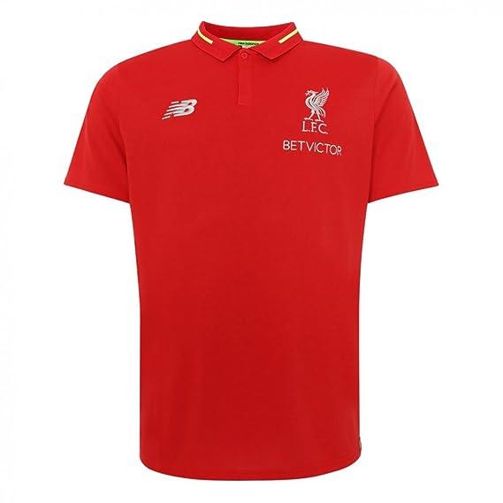 db69c629b Liverpool FC 18/19 Elite Leisure Football Polo Shirt - RCR: Amazon ...