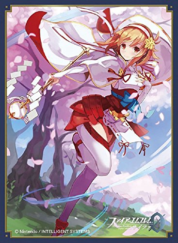 Fire Emblem 0 Cipher Princess Sakura Card Game Character Mat Sleeves Collection No.FE14 Matte Anime Girl Awakening Fates Priestess 14