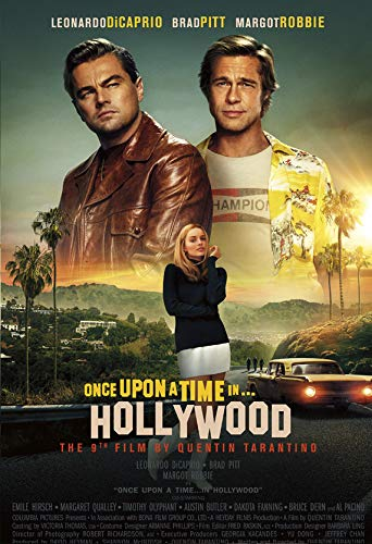 Good Hope Once Upon A Time In Hollywood Movie Poster For Room Office 13 Inch X 19 Inch Rolled Amazon In Home Kitchen