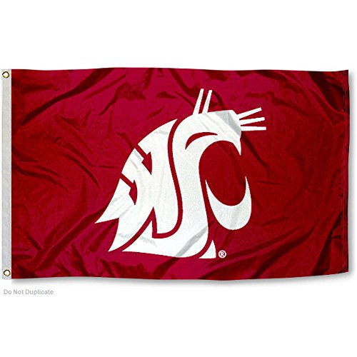 Washington State Cougars WSU University Large College - Tailgate State Washington Cougars