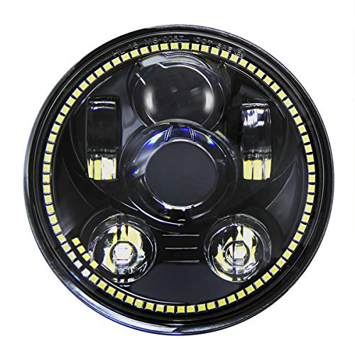 Wisamic 5-3/4 5.75 inch LED Headlight -