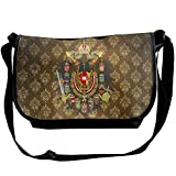 Lov6eoorheeb Unisex Coat Of Arms Of The Austro Hungarian Empire Wide Diagonal Shoulder Bag Adjustable Shoulder Tote Bag Single Shoulder Backpack For Work,School,Daily