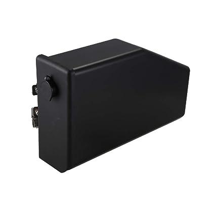 Basage Caja de Herramientas de Motocicleta Negra de 5 litros Caja ...