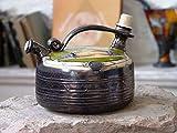 Best Halls Teapots - Wheel Thrown Ceramic Teapot. Handmade Pottery Coffee Pot Review