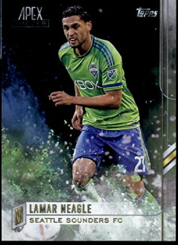 2015 Topps Apex MLS #92 Lamar Neagle Seattle Sounders FC Soccer Card
