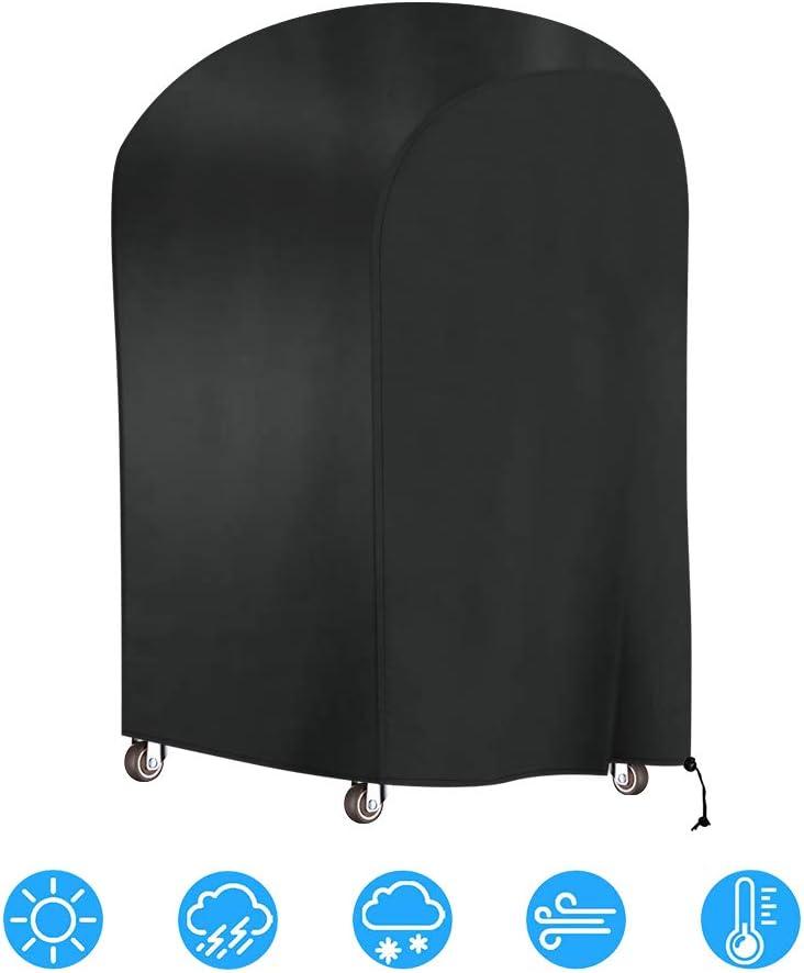 Vegkey Copertura Barbecue Impermeabile,Telo Copri Barbecue Copertura,BBQ Grill Anti Pioggia Polvere per griglia Copertura Protettiva 77cm x 67cm x 110cm