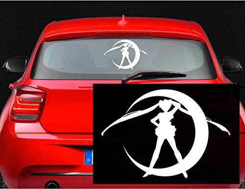 Sailor Moon Usagi Anime Vinyl Decal Sticker for Car Room Window Wall Laptop (5.5