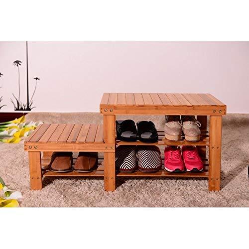 energi8_loo Kids Room Bamboo Shoes Storage Rack Bench Shelf Boot Organizer Furniture Decor by energi8_loo
