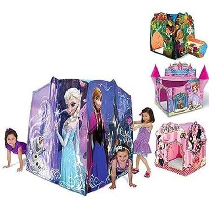 Amazoncom Disney Play Tent Characters Frozen Sofia Jake
