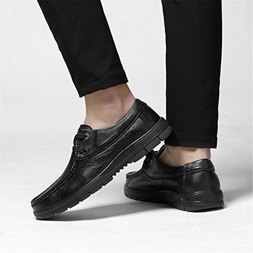 Mocasines y Ons de Verano Caminar Comfort Zapatos Conducción Hombre de Cuero para Zapatos Slip Zapatos Primavera Un zTnpqv
