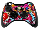 the grafix studio Graffiti Hip Hop Xbox 360 Remote Controller/Gamepad Skin / Vinyl Cover / Vinyl Xbr18