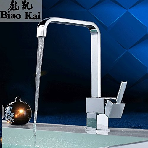72137 Commercial Single Lever Pull Down Kitchen Sink Faucet Brass Constructed Polished Kitchen Faucet hot and Cold Kitchen Faucet Sink Sink Faucet Bathroom Manufacturers Wholesale,7  21  37