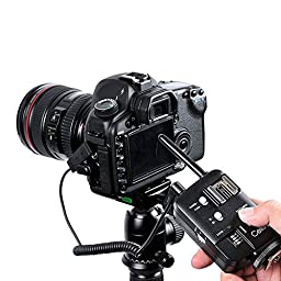 Godox Wireless Canon Ettl Trigger Cells Canon Trigger Set 16 Chanel All-in-one 433Mhz 1/8000 sync speed for Flash Speedlite TT850 TT520/560 Studio Strobe Ad360 Smart monoligt De300