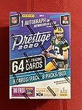 2020 NFL Prestige Football Trading Card Blaster Box 1 Auto or Memorabilia Card per