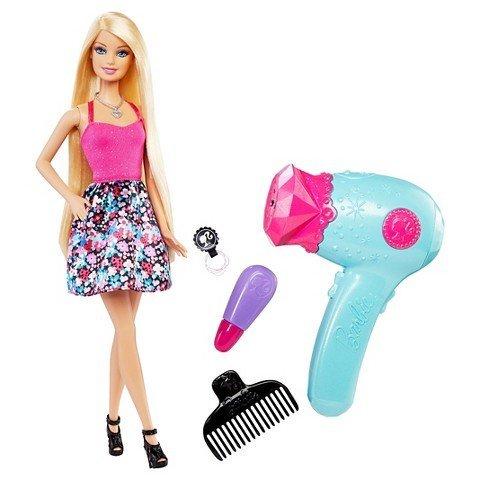 Barbie Hair Tastic Glitter Blow (Barbie Glitter Hair)