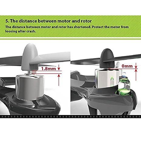 Amazon.com: Nueva Versión mejorada HUBSAN X4 V2 H107L 2.4 G ...