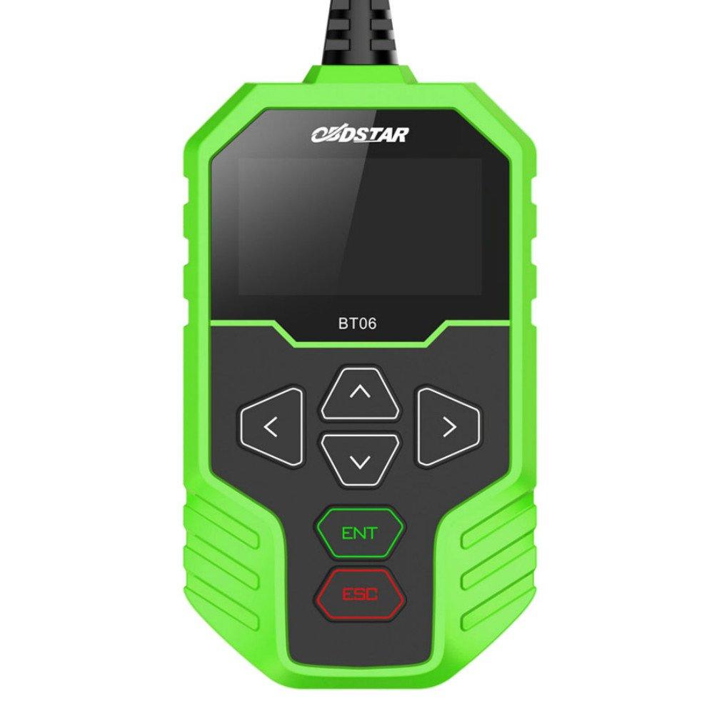 OBDSTAR BT06 Car Battery Tester 100-2000 CCA 220AH Automotive Load Battery Tester for 12V Lead-acid Storage Battery and 12/24V Automobile system