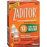 Zaditor Antihistamine Eye Drops, Twin Pack, 5-mL Each