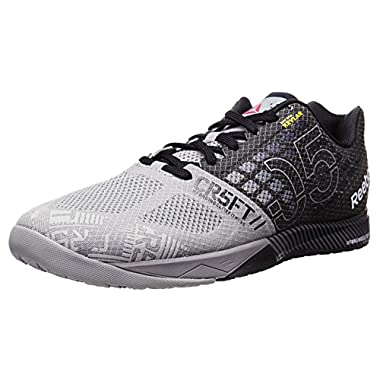 Reebok Men's R Crossfit Nano 5.0 Training Shoe, Flat Grey/Black, 14 M US