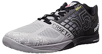 Reebok Men's Crossfit Nano 5.0 Training Shoe, Flat Grey/Black, 10 M US